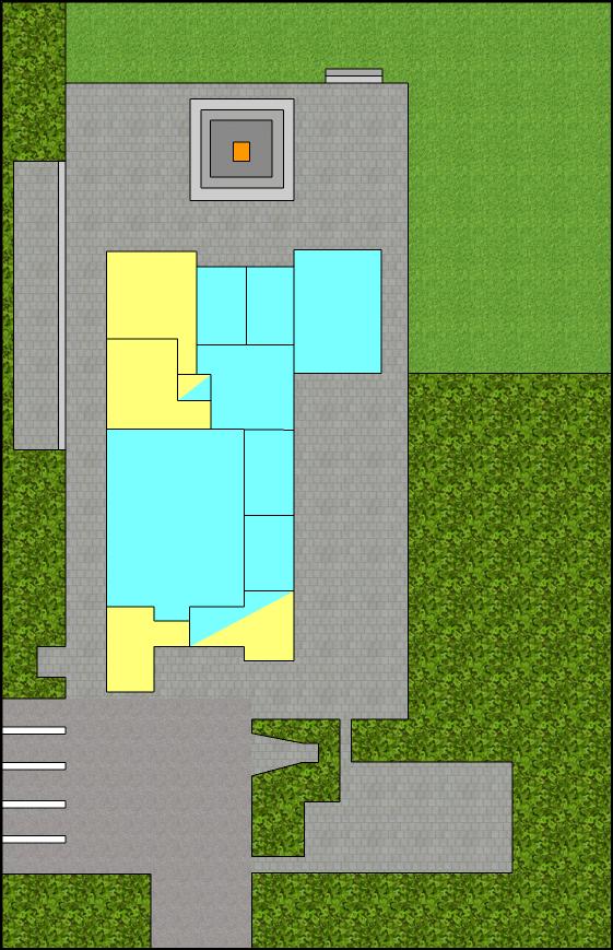 Blokhut plattegrond