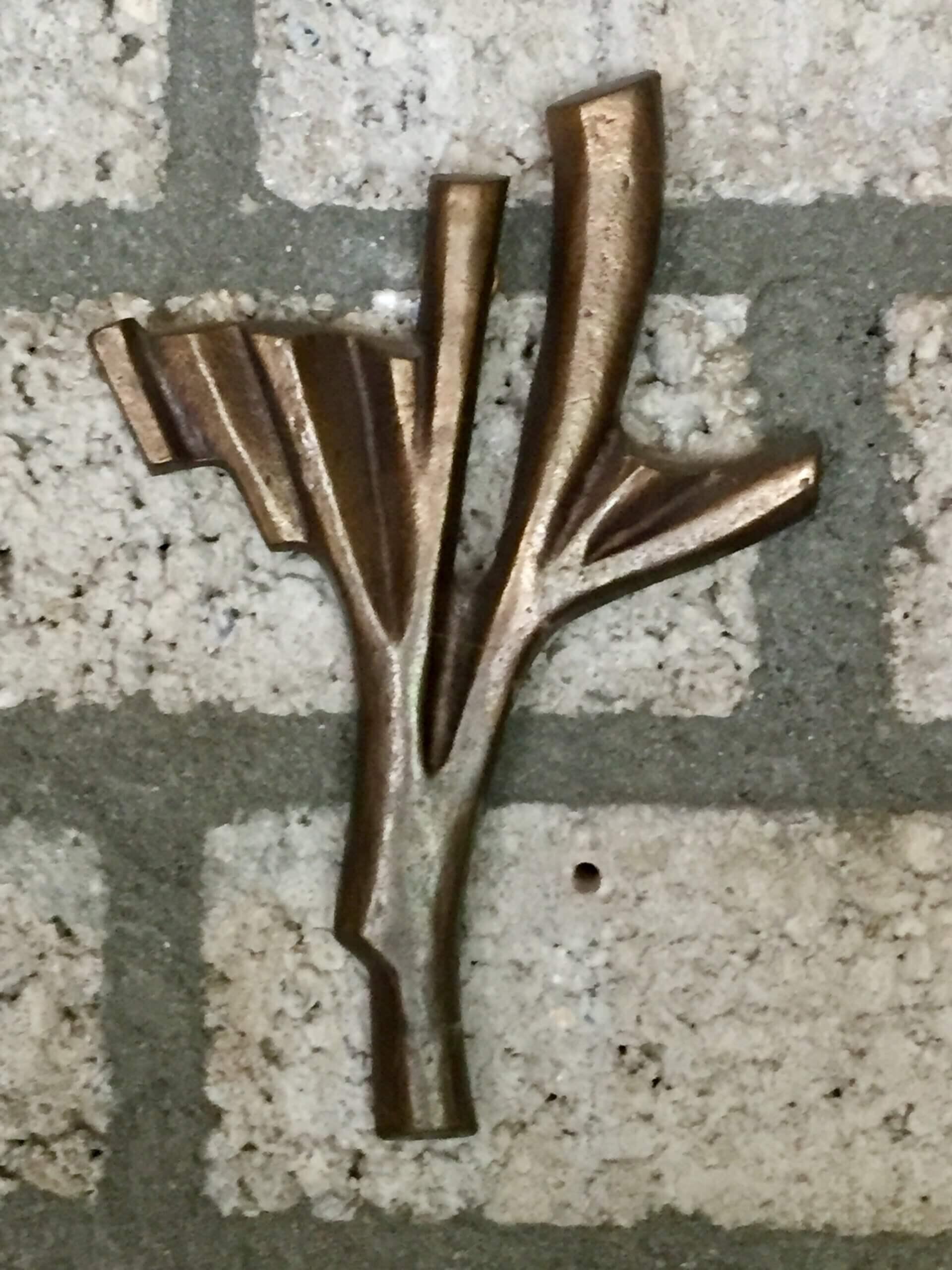 inzegeningskruis-brons